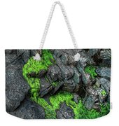 Thunder Hole Algae Weekender Tote Bag