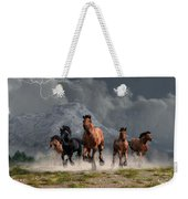 Thunder On The Plains Weekender Tote Bag
