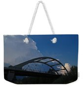 Thunder Over The Rogue River Bridge Weekender Tote Bag