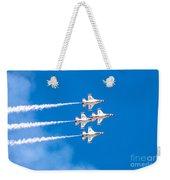Thunderbirds And Blue Sky  Weekender Tote Bag