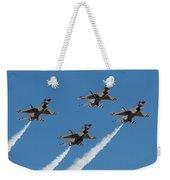 Thunderbirds Diamond Flyover Weekender Tote Bag