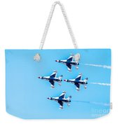 Thunderbirds Flying Over Weekender Tote Bag