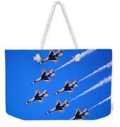 Thunderbirds Jet Team Flying Fast Weekender Tote Bag