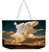 Thunderhead Over The Blacktail Plateau Weekender Tote Bag by Marty Koch