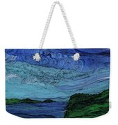 Thunderheads Weekender Tote Bag by First Star Art