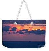 Thundering Sunset Weekender Tote Bag