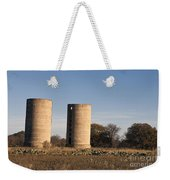 Thurber Dairy Silos Texas Weekender Tote Bag