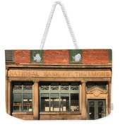 Thurmond Bank Of West Virginia Weekender Tote Bag