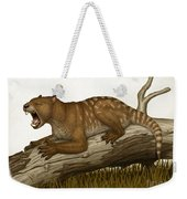 Thylacoleo Carnifex, A Marsupial Weekender Tote Bag