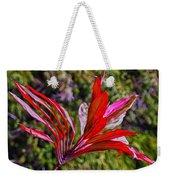 Red Ti Plant Weekender Tote Bag