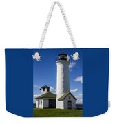 Tibbetts Point Lighthouse Weekender Tote Bag by Ben and Raisa Gertsberg