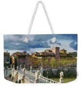 Tiber River In Rome Weekender Tote Bag