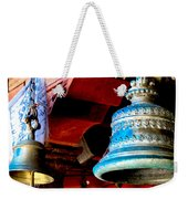 Tibetan Bells Weekender Tote Bag