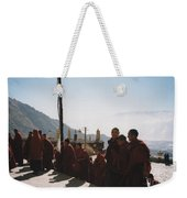 Tibetan Monks 2 Weekender Tote Bag