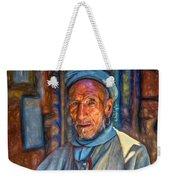Tibetan Refugee - Paint Weekender Tote Bag