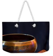 Tibetan Singing Bowl Weekender Tote Bag