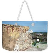 Tiburon And Basketball Court At The Top Of The Fort Wall Weekender Tote Bag