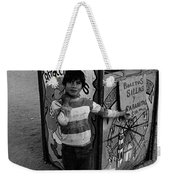 Ticket Booth Traveling Carnival Us Mexico Border Naco Sonora Mexico 1980 Weekender Tote Bag