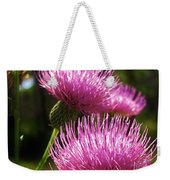 Tickled Thistle Weekender Tote Bag