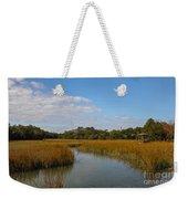 Tidal Creek Ebb And Flow Weekender Tote Bag