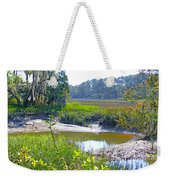 Tidal Creek In The Savannah Weekender Tote Bag