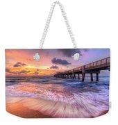 Tidal Lace Weekender Tote Bag