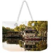 Tied Up Atchafalaya Swamp Louisiana Weekender Tote Bag