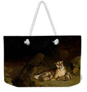 Tiger And Cubs Weekender Tote Bag