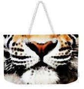 Tiger Art - Burning Bright Weekender Tote Bag