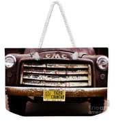 Tiger Country - Purple And Old Weekender Tote Bag