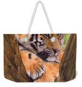 Tiger Cub Painting Weekender Tote Bag