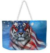 Tiger Flag Weekender Tote Bag