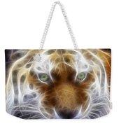 Tiger Greatness Digital Painting Weekender Tote Bag