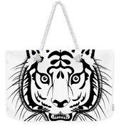 Tiger Head Weekender Tote Bag