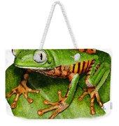 Tiger-legged Monkey Frog Weekender Tote Bag