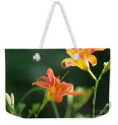 Tiger Lily And Bud   # Weekender Tote Bag