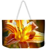 Tiger Lily Flower Weekender Tote Bag