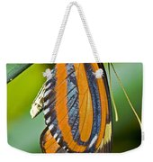 Tiger Mimic Queen Butterfly Weekender Tote Bag