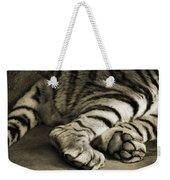 Tiger Paws Weekender Tote Bag