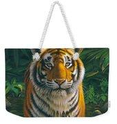 Tiger Pool Weekender Tote Bag