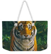 Tiger Pool Weekender Tote Bag