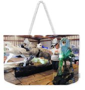 Tiger Project Work Space Weekender Tote Bag