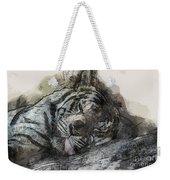 Tiger R And R Weekender Tote Bag