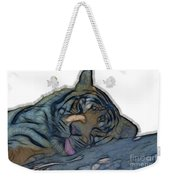 Tiger R And R V4 Weekender Tote Bag