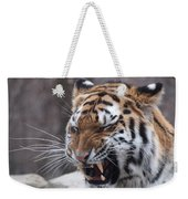 Tiger Smile Weekender Tote Bag