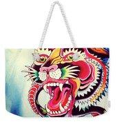 Tiger Snake Weekender Tote Bag