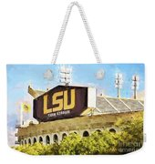 Tiger Stadium Weekender Tote Bag by Scott Pellegrin