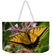 Tiger Swallowtail Digital Art Weekender Tote Bag