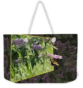 Tiger Swallowtail Oob-featured In Beautycaptured-oof-harmony And Happiness Weekender Tote Bag