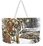 Tiger View Weekender Tote Bag